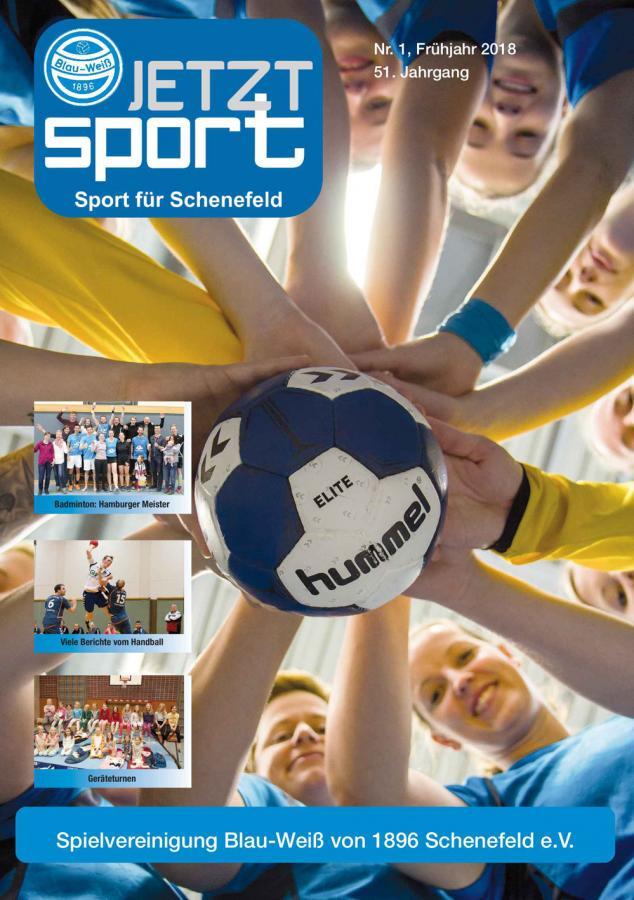Titel Handball Heft 3.2018