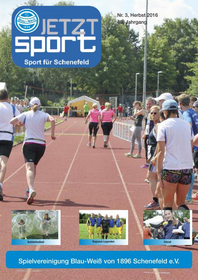 Blau-Weiß 09-16 Titelseite