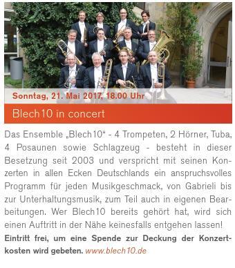 Blech10 in concert