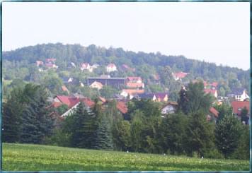 Blick auf Elbersdorf