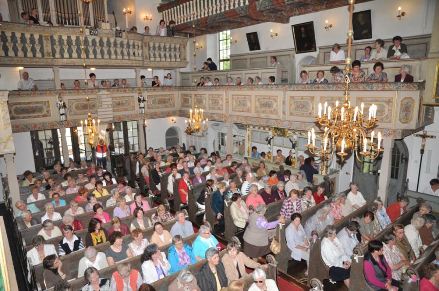 Rogate-Frauentreffen 2014 in der St. Johanniskirche Scheibenberg