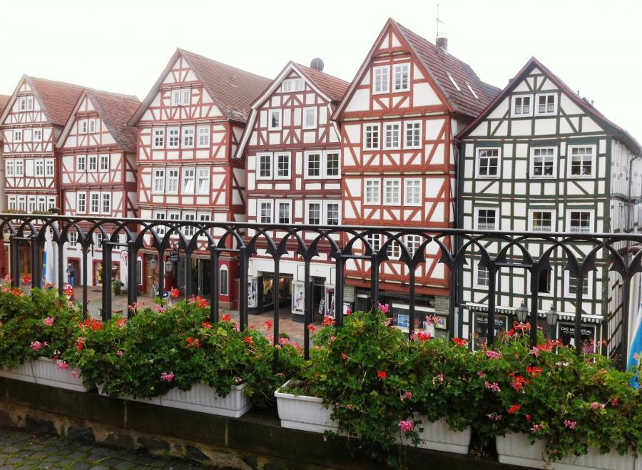 Blick vom Kirchplatz