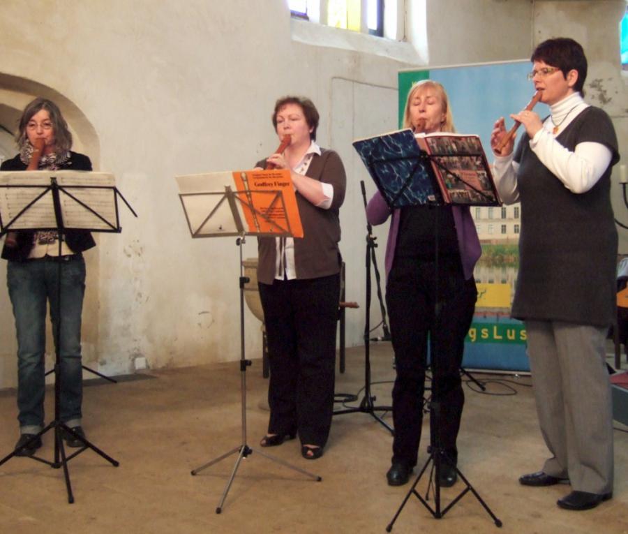 Blockflötenensemble Tutti dolce, Foto: Sylvia Wegener