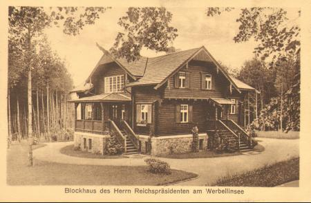 Blockhaus des Reichspräsidenten