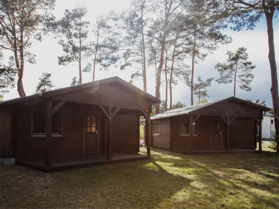 Campingplatz Rathenow Blockhütte
