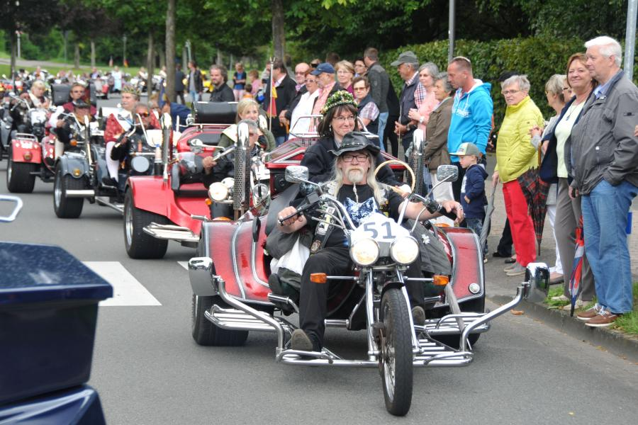 Queens on Trike, Blomberg 2016
