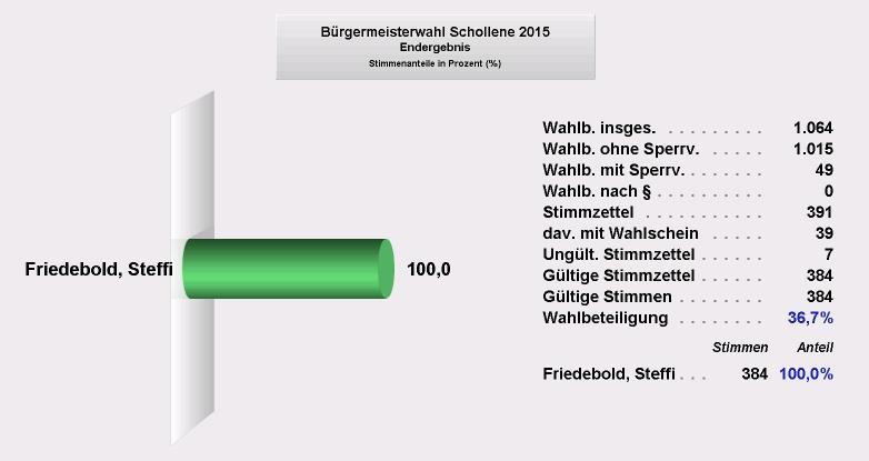 BM-Wahl Schollene 2015