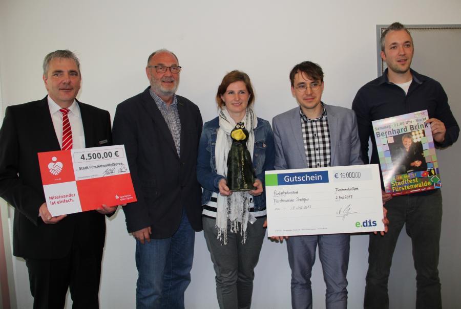 v.l.n.r. Jan Böge, Hans-Ulrich Hengst, Sylvaine Meister, Danilo Fox, Robert Kaul