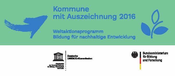 BNE Auszeichnung Kommune 2016