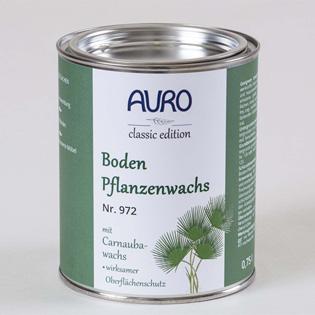Auro Bodenpflanzenwachs 972