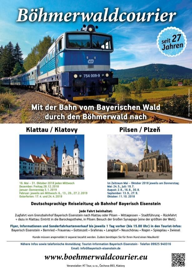 BöhmerwaldCourier 2018- Plakat
