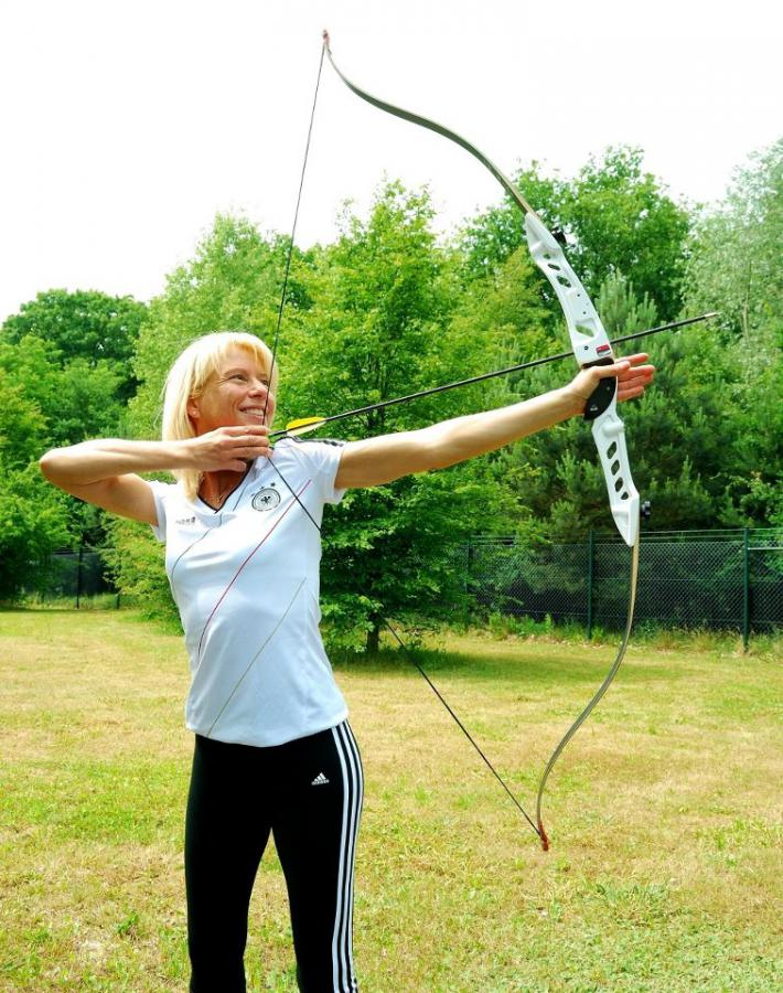 Bogenschießen - Annette Tunn