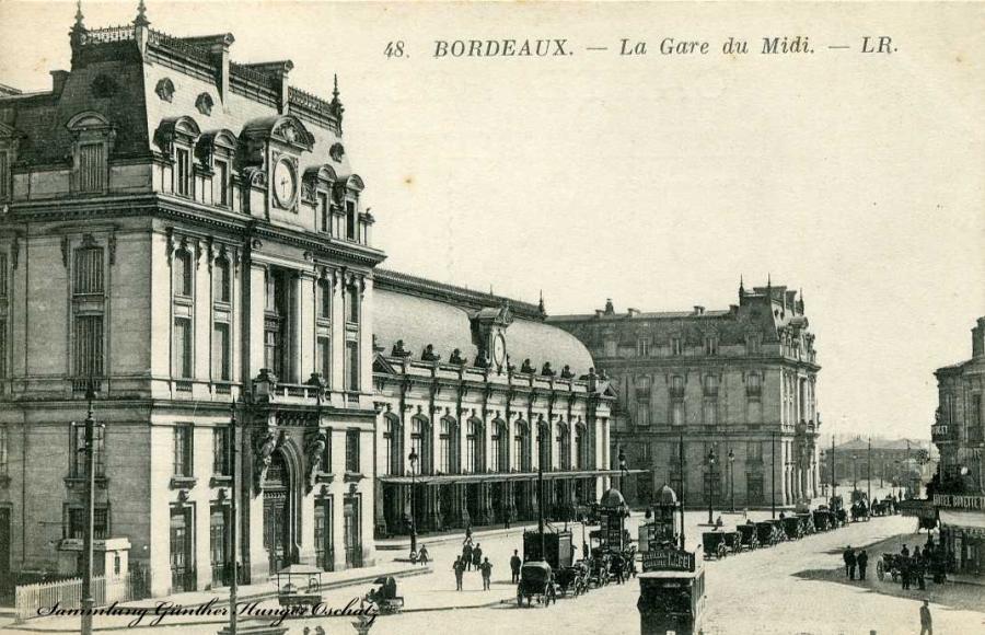 Bordeaux La Gare du Midi - LR.