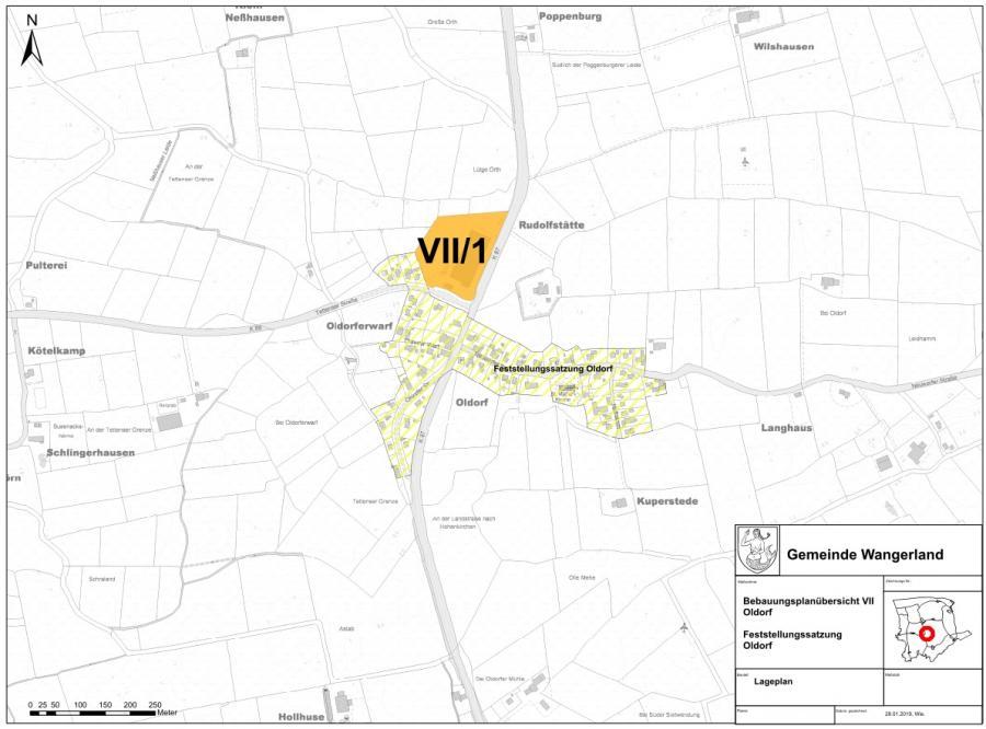 Übersichtsplan VII Oldorf
