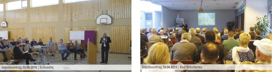 Impulsvorträge in Schondra und Bad Brückenau