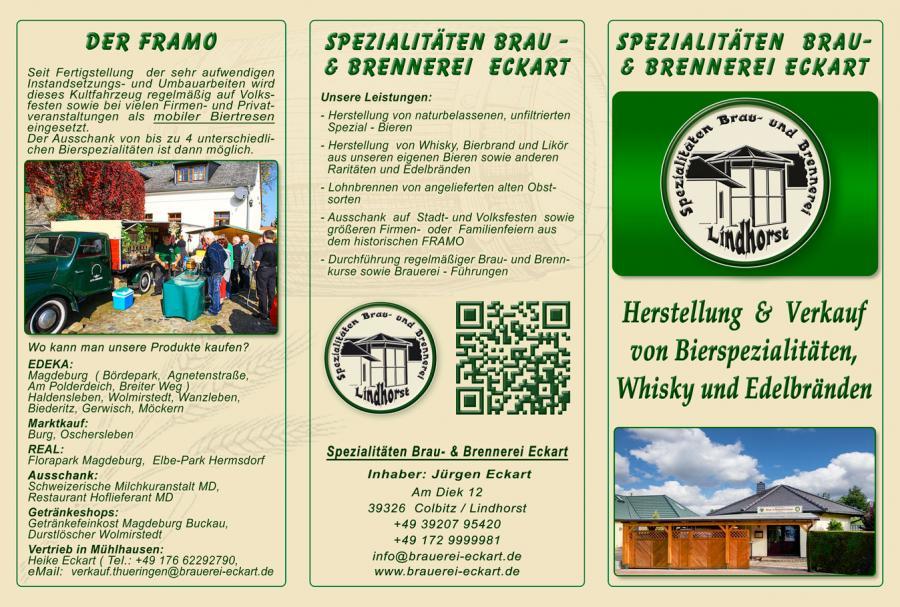 Brauerei Eckart Flyer_vorn