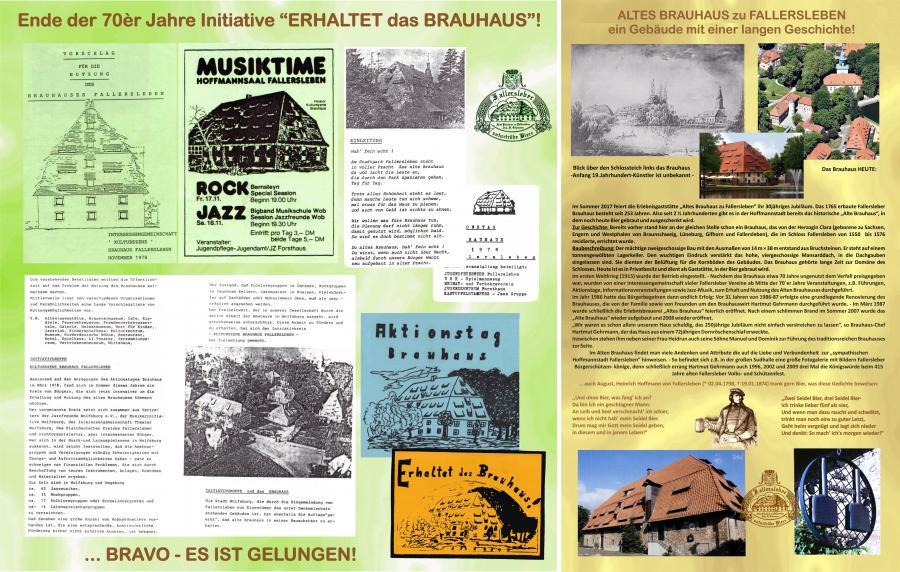 Geschichte Fallersleber Brauhaus