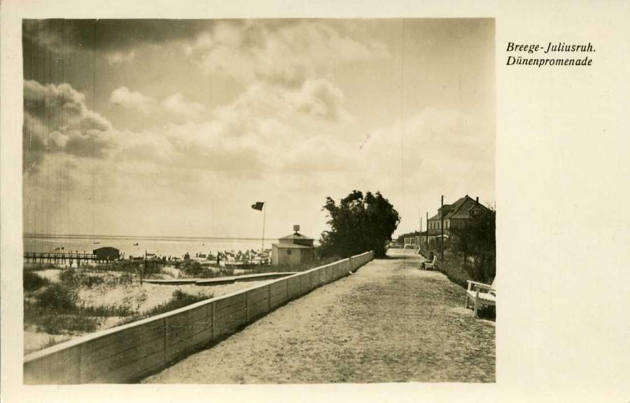 Breege-Juliusruh Dünenpromenade 1942