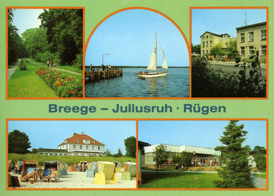 Breege-Juliusruh-Rügen 1988