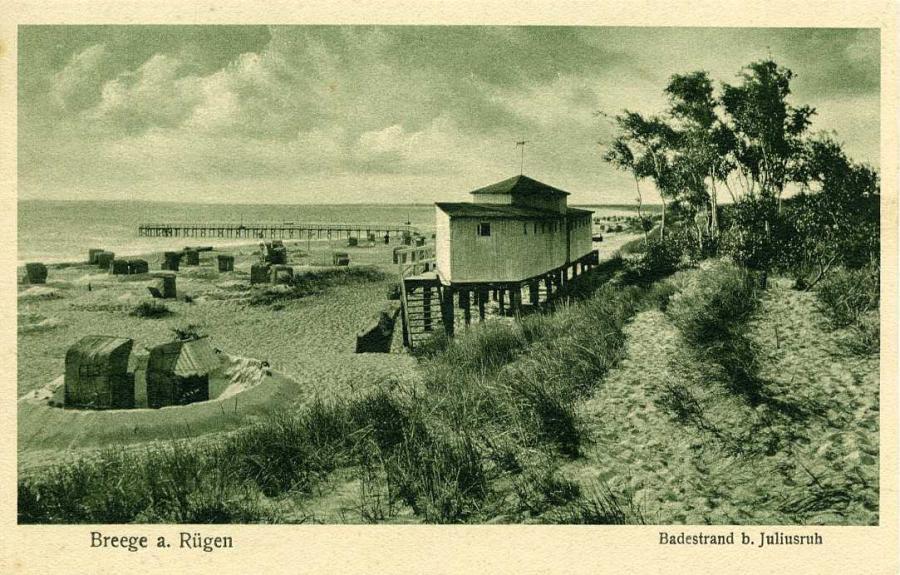 Breege a. Rügen Badestrand b. Juliusruh
