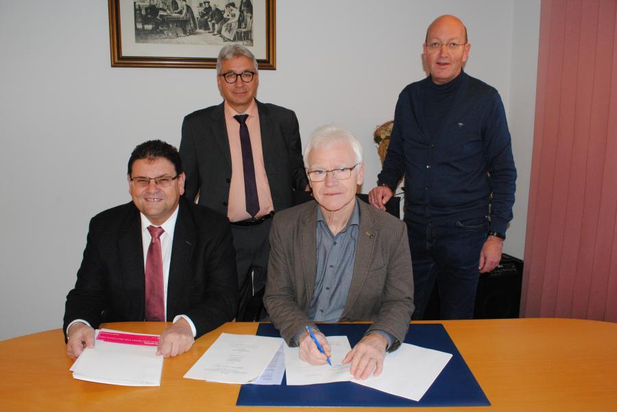 Breitbandversorgung  11.12.2017 Unterzeichnung
