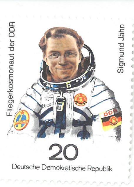 Briefmarke: Sigmund Jähn