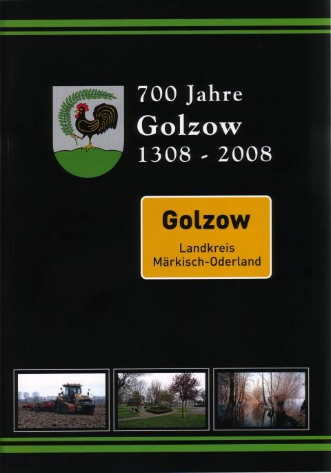 Broschüre 700 Jahre Golzow