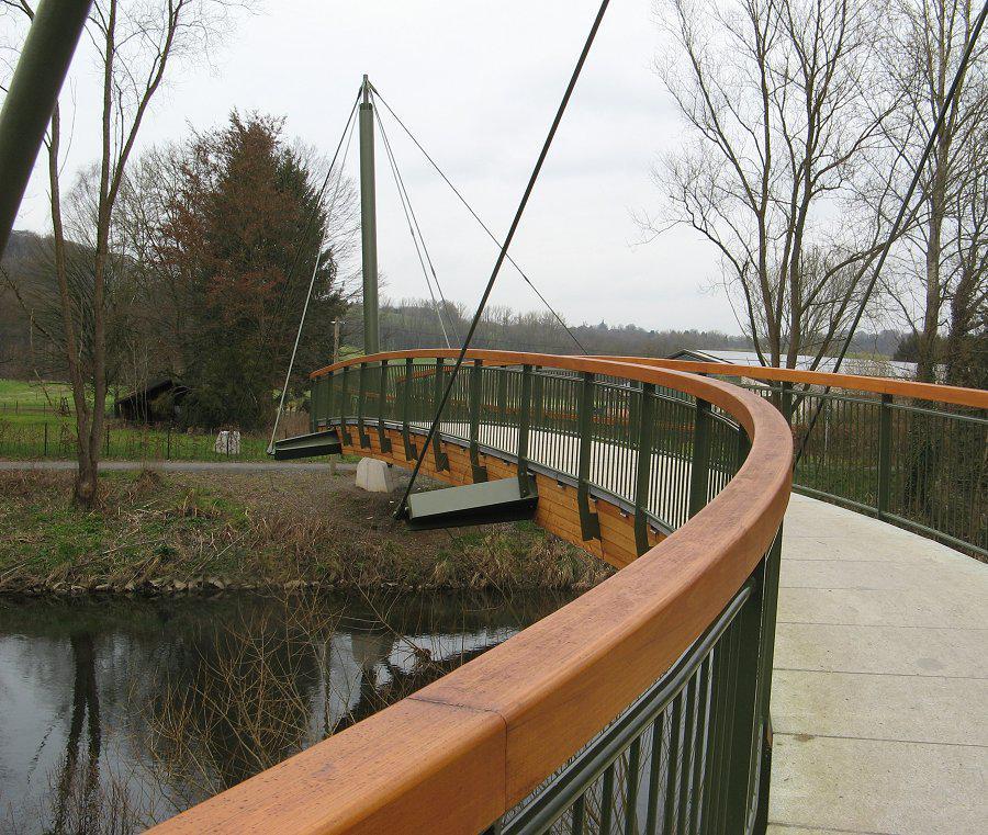 Brücke im Aggerbogen