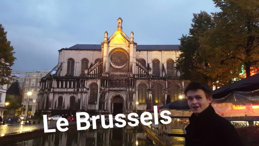 Max Hecker in Brüssel