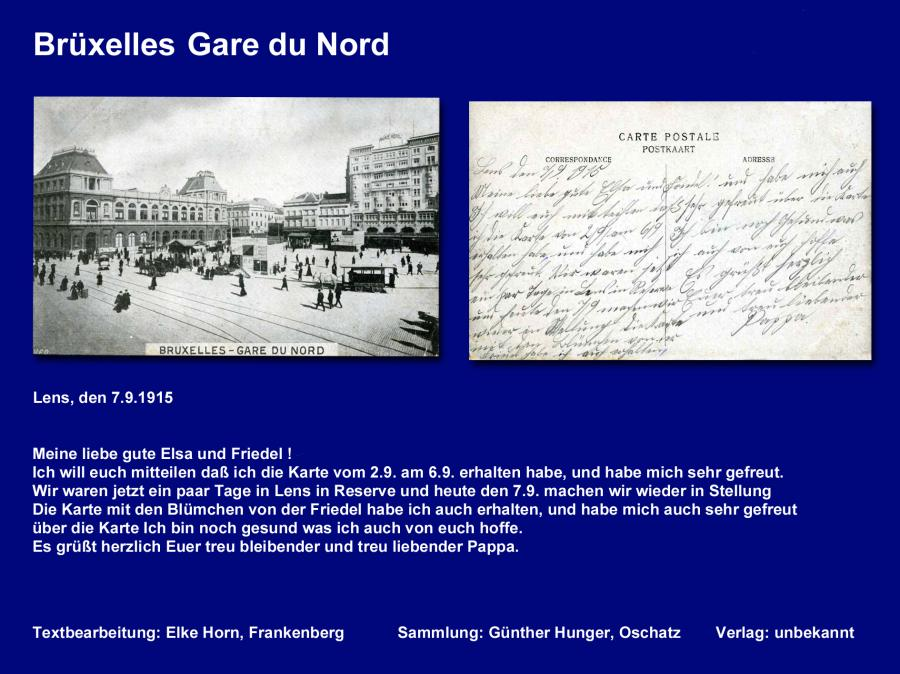 Brüxelles Gare du Nord