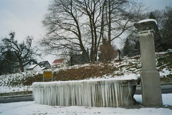 Brunnen Ortseingang