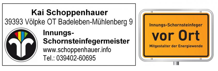 Schornsteinfegermeister Kai Schoppenhauer