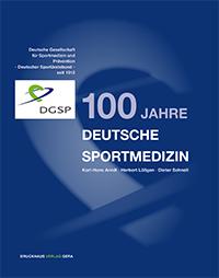 Buchcover 100 Jahre Deutsche Sportmedizin
