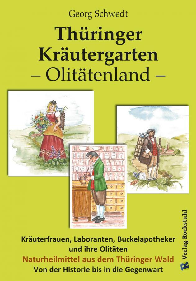 Buch Thüringer Kräutergarten