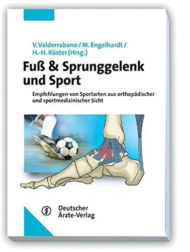 """Buchcover """"Fuß & Sprunggelenk und Sport"""""""