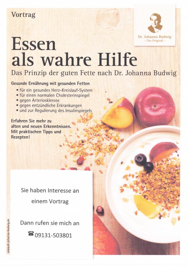 Vortrag Öl-Eiweiß-Kost