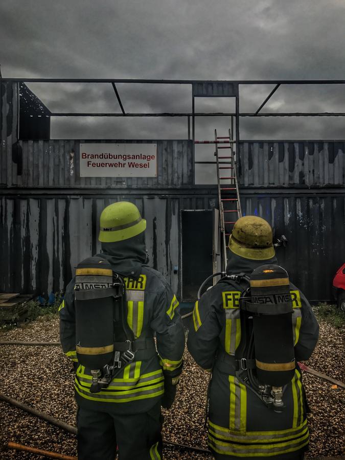 Brandübungsanlage Feuerwehr Wesel