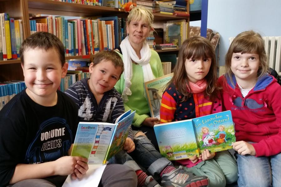Bücherkumpel Grundschule Küstriner Vorland