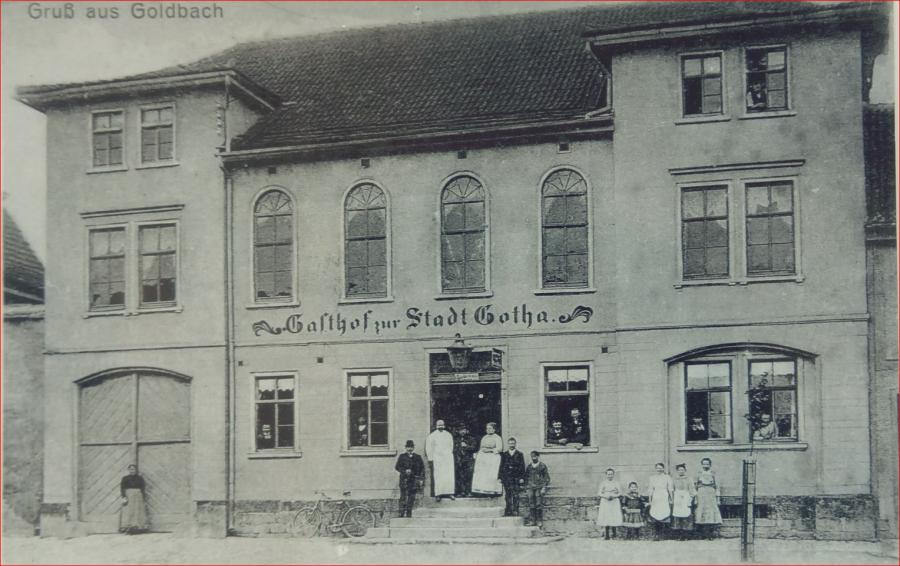 heutiges Bürgerhaus um 1900