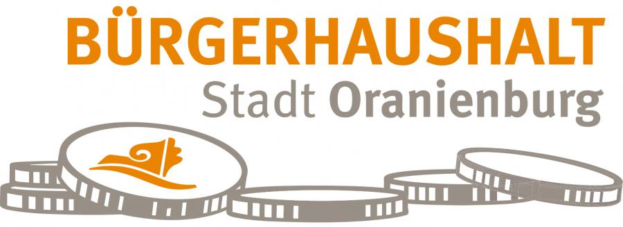 Bürgerhaushalt der Stadt Oranienburg (Logo, Web)