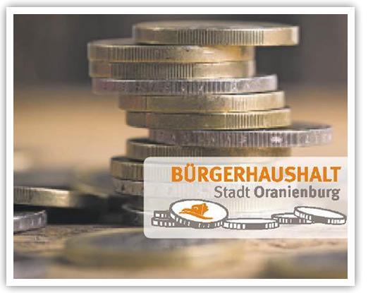 Bürgerhaushalt Oranienburg