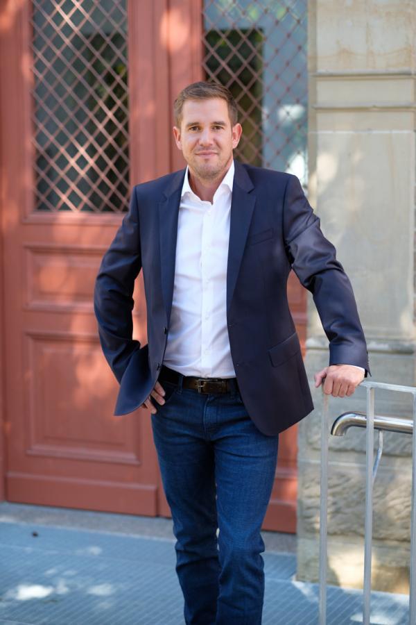 Bürgermeister Boris Seitz