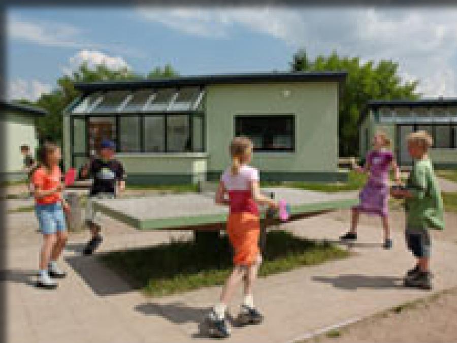 Tischtennis im Feriendorf