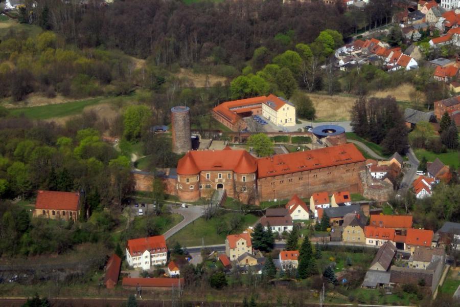 Burg Eisenhardt, Foto: Stadtverwaltung Bad Belzig - Öffentlichkeitsarbeit