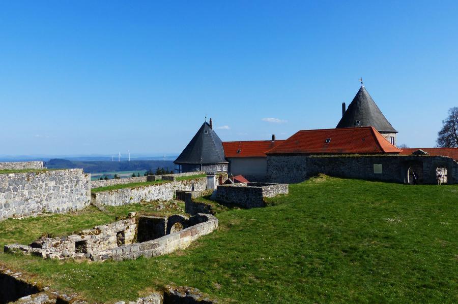 Burg Herzberg, die Hochburg