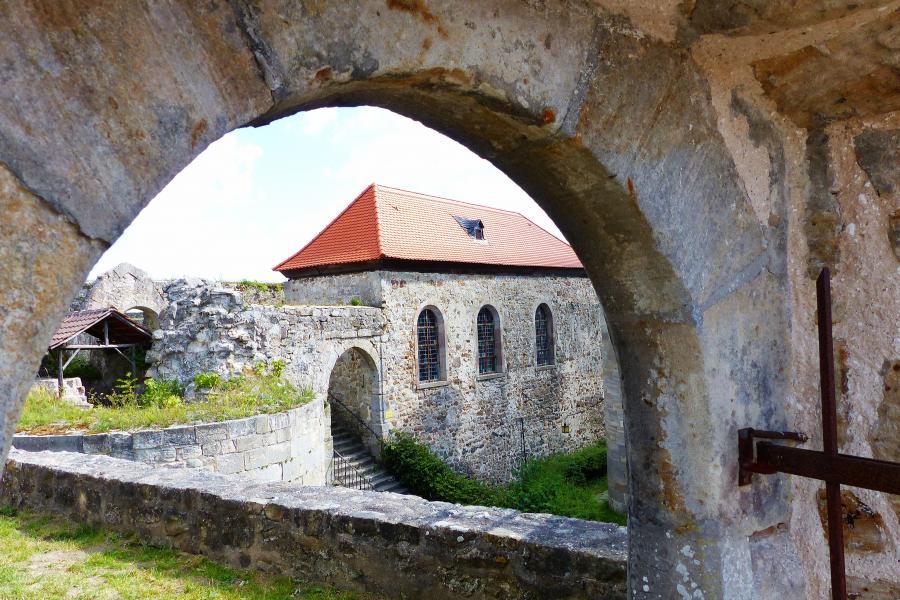 Burg Herzberg, die Kapelle