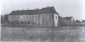Burg 1840 gemalt von Le Petite