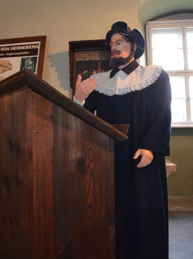 Lehrer des Hennebergischen Gymnasiums, 16. Jh.