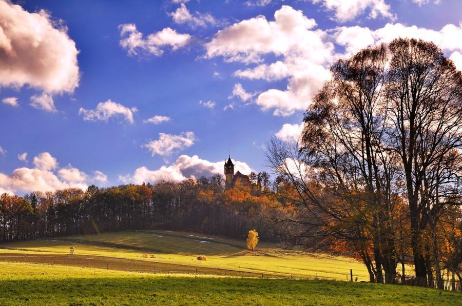 Burgsberg im Herbst