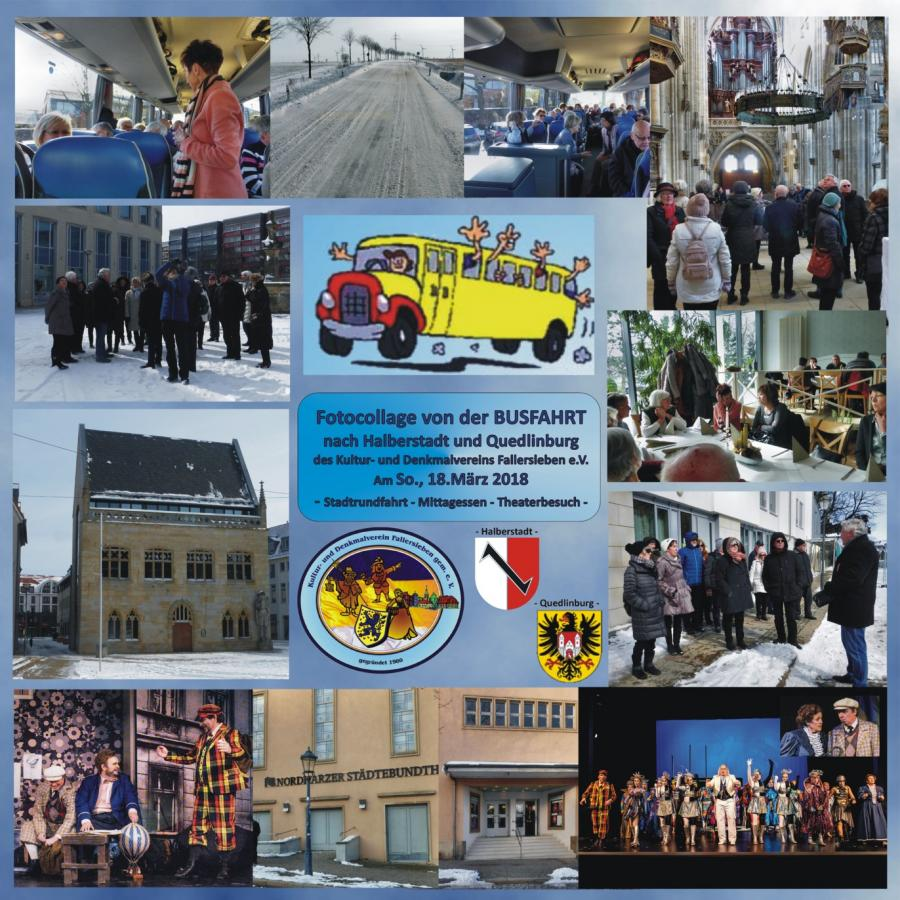 Busfahrt nach Halberstadt 18.März 2018